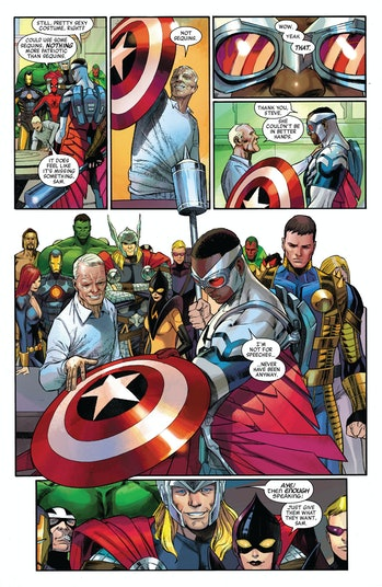 Captain America Falcon Avengers Endgame