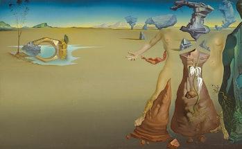 [ D ] Salvador Dali - Oasis (1946)