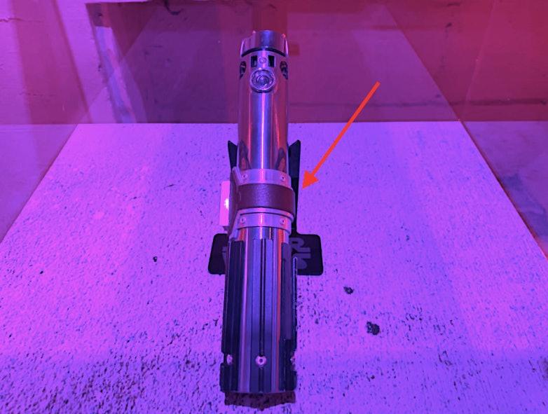 Rey's saber, repaired