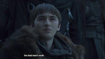 Isaac Hempstead Wright in 'Game of Thrones' Season 8