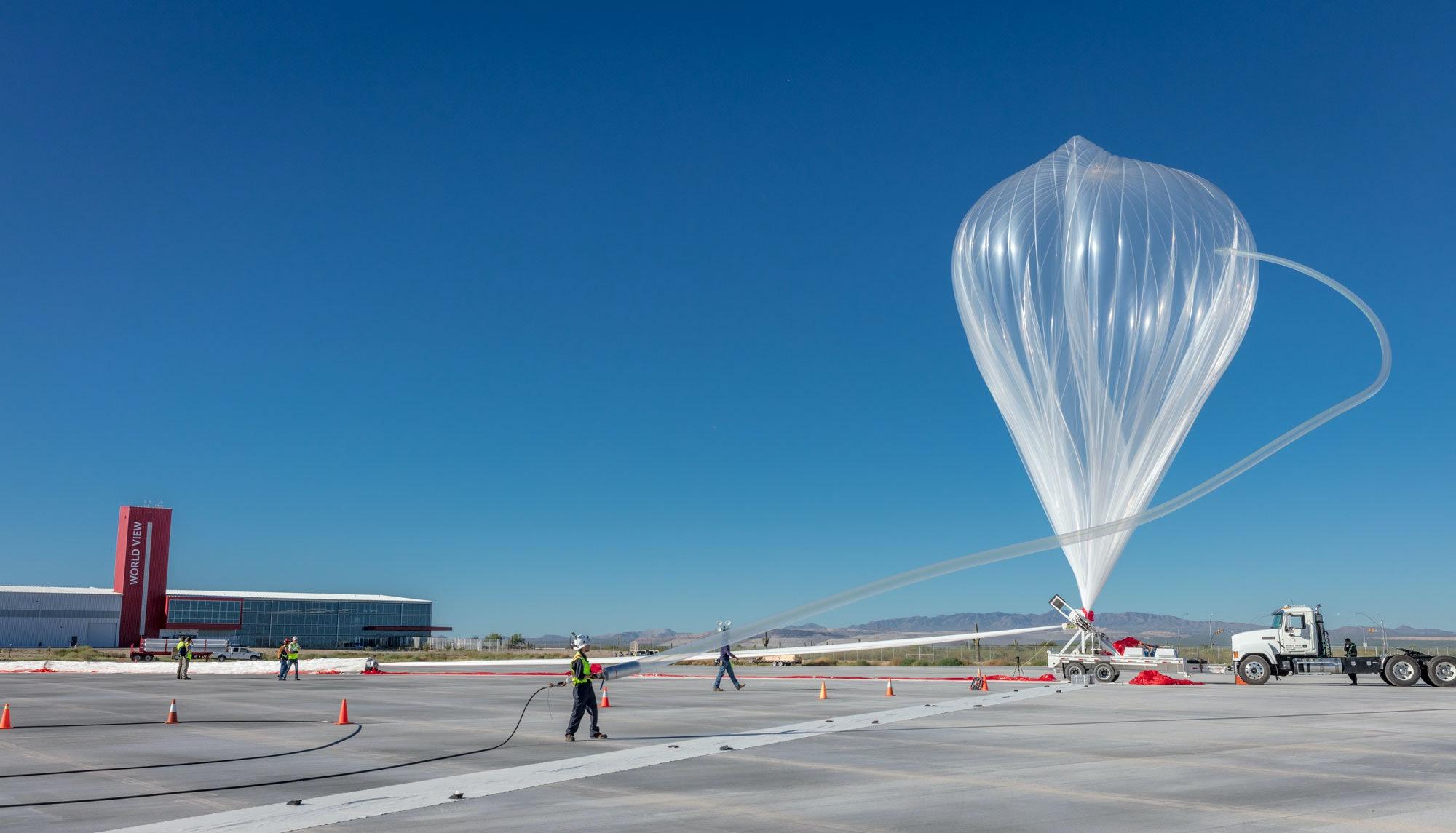 World View Stratollite balloons
