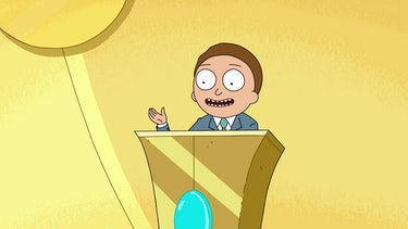 rick and morty candidate