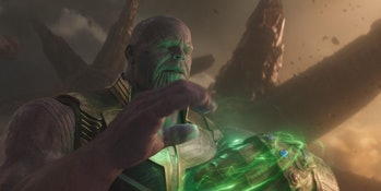 Infinity War Thanos Time Stone