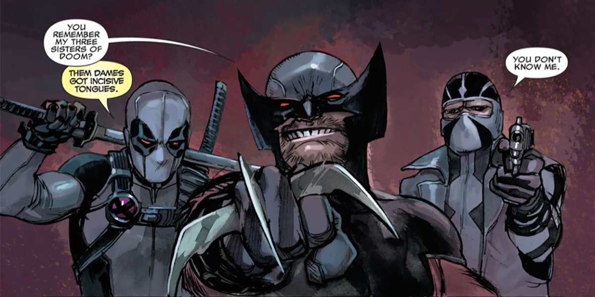 X-Force from Marvel Comics including Deadpool and Wolverine
