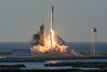 SpaceXInmarsat-5 Mission launch