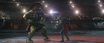 Thor Ragnarok VFX Hulk