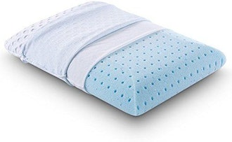 Comfort & Relax Ventilated Memory Foam Bed Pillow with AirCell Technology