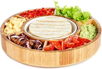 Rotating Appetizer Serving Platter