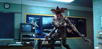 The demogorgon in 'Stranger Things'