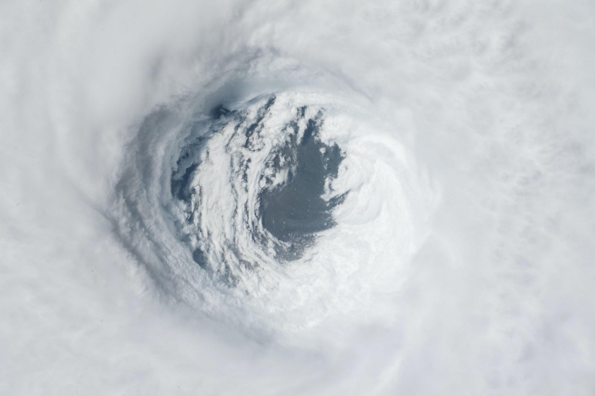 Hurricane Michael Satellite image.