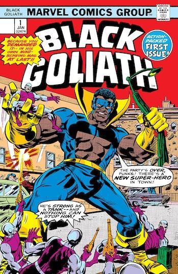Black Goliath Marvel