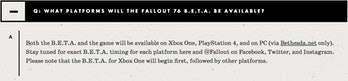 Fallout 76 FAQ Steam