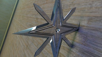 A 3d designed ninja star I am playing with. Modeled and rendered in Modo! If you like my art works, please support me on patreonwww.patreon.com/Grauer