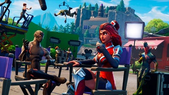 'Fortnite' loading screen.