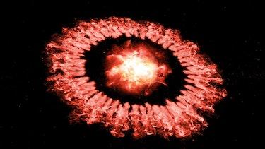 supernova dust