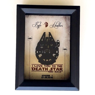 Star Wars Inspired 3D Anniversary Gift