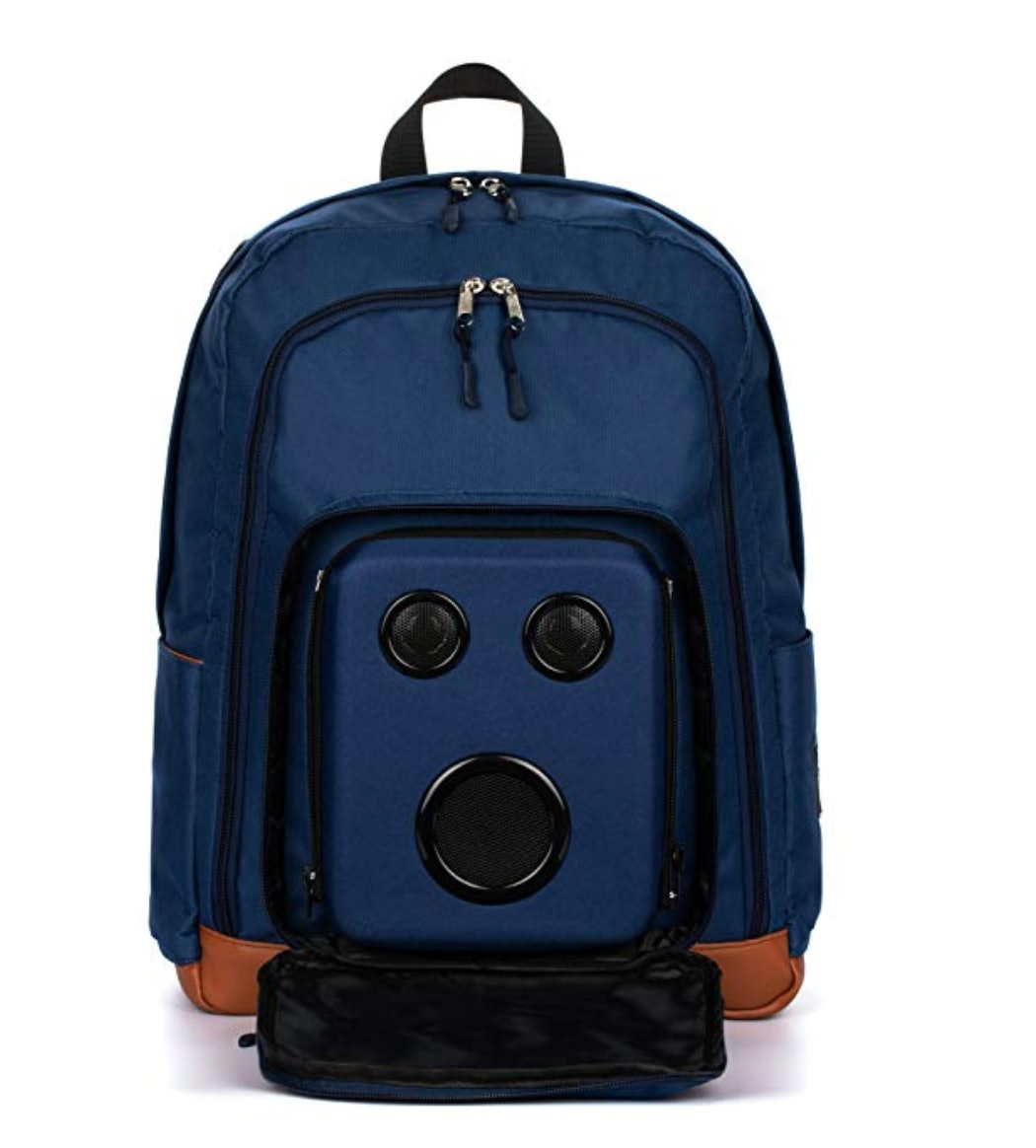 music, backpacks, technology, speakers, bluetooth, travel