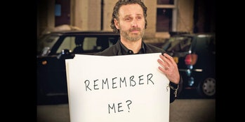 Will any non-zombie fans remember Andrew Lincoln?