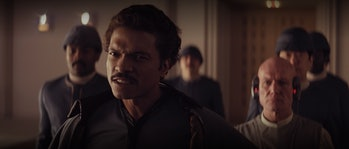 Lando has some serious beef with Han.