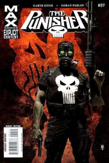Punisher Max Marvel