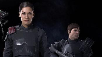 Iden Versio and Del Meeko in 'Battlefront II'.