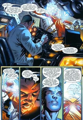 Spider-Man Iron Man Suit