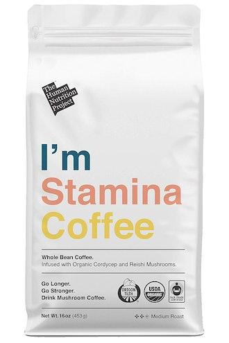 I'm Stamina Coffee | Organic Nootropic Mushroom Coffee