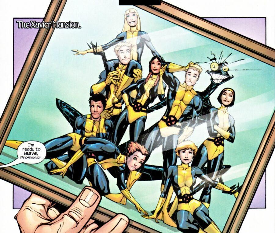 New Mutants X-Men Marvel