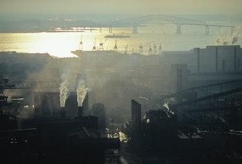 smoke haze Baltimore MD