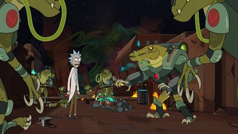 Rick and Morty Season 4 dinosaur cyborgs