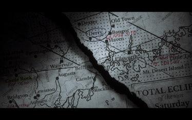 Castle Rock Maine Map