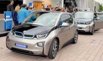 electric car bmw germany