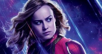 Avengers Endgame Poster Captain Marvel
