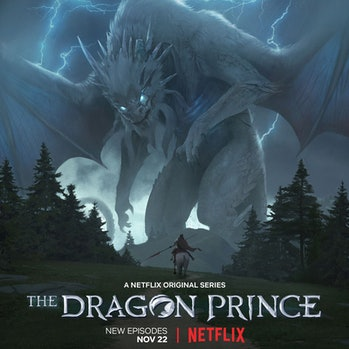 'The Dragon Prince' Season 3 poster