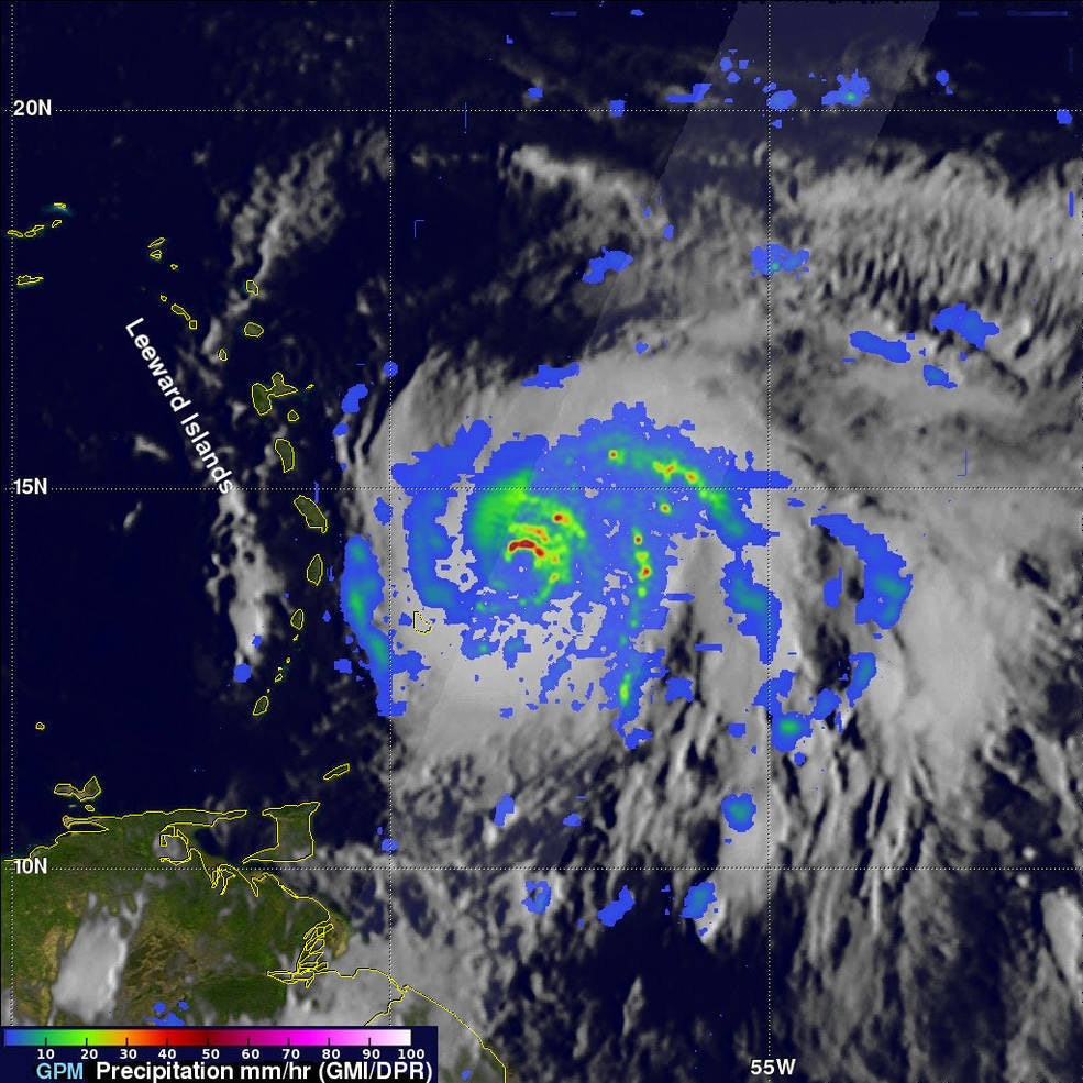 hurricane maria precipitation