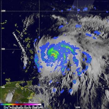 hurricane maria precipitation
