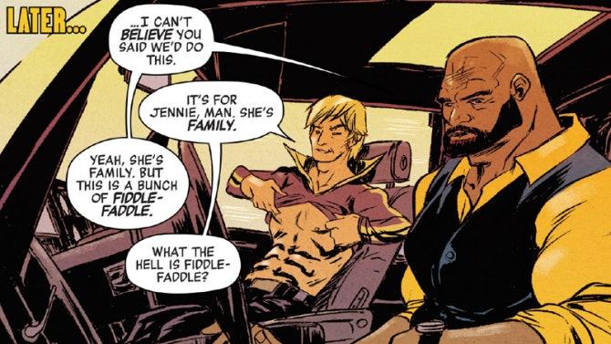 Marvel Luke Cage Iron Fist Cursing