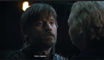 """Nikolaj Coster-Waldau as Jaime Lannister on """"The Last of the Starks"""""""