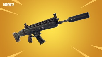'Fortnite' Suppressed Assault Rifle