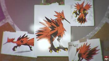 pokemon sword and shield galarian zaptos