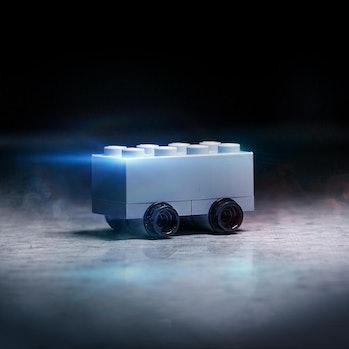 Lego Tesla Cybertruck.