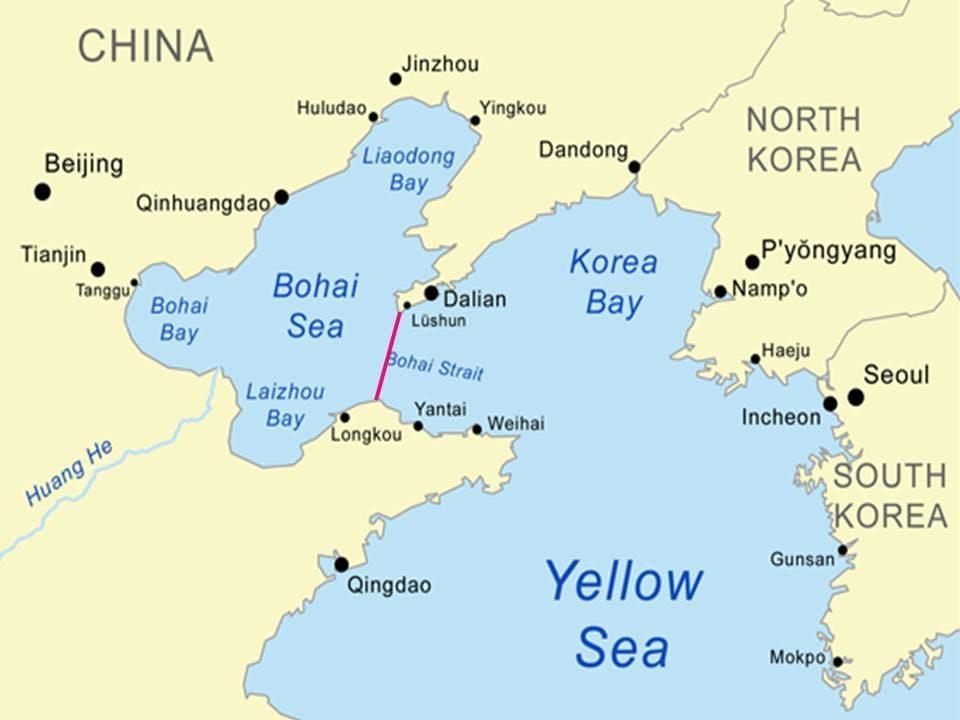 Bohai Strait tunnel.