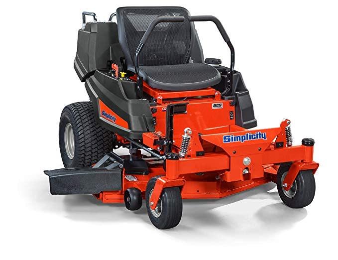 Simplicity 2691477 Courier Mower, Riding, Zero Turn, Orange