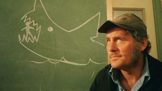 Captain Quint in Steven Spielberg's 'Jaws'