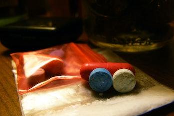 MDMA ecstasy pills