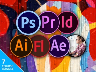 The Complete Adobe CC Training Bundle
