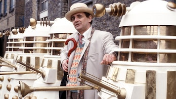 Sylvester McCoy as the 7th Doctor