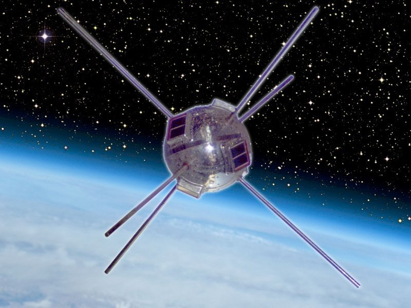 This little guy,Vanguard 1, was a solar pioneer.