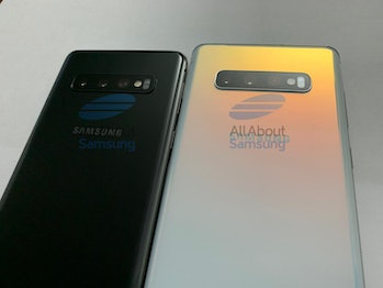 samsung galaxy s10 and s10 plus leaks