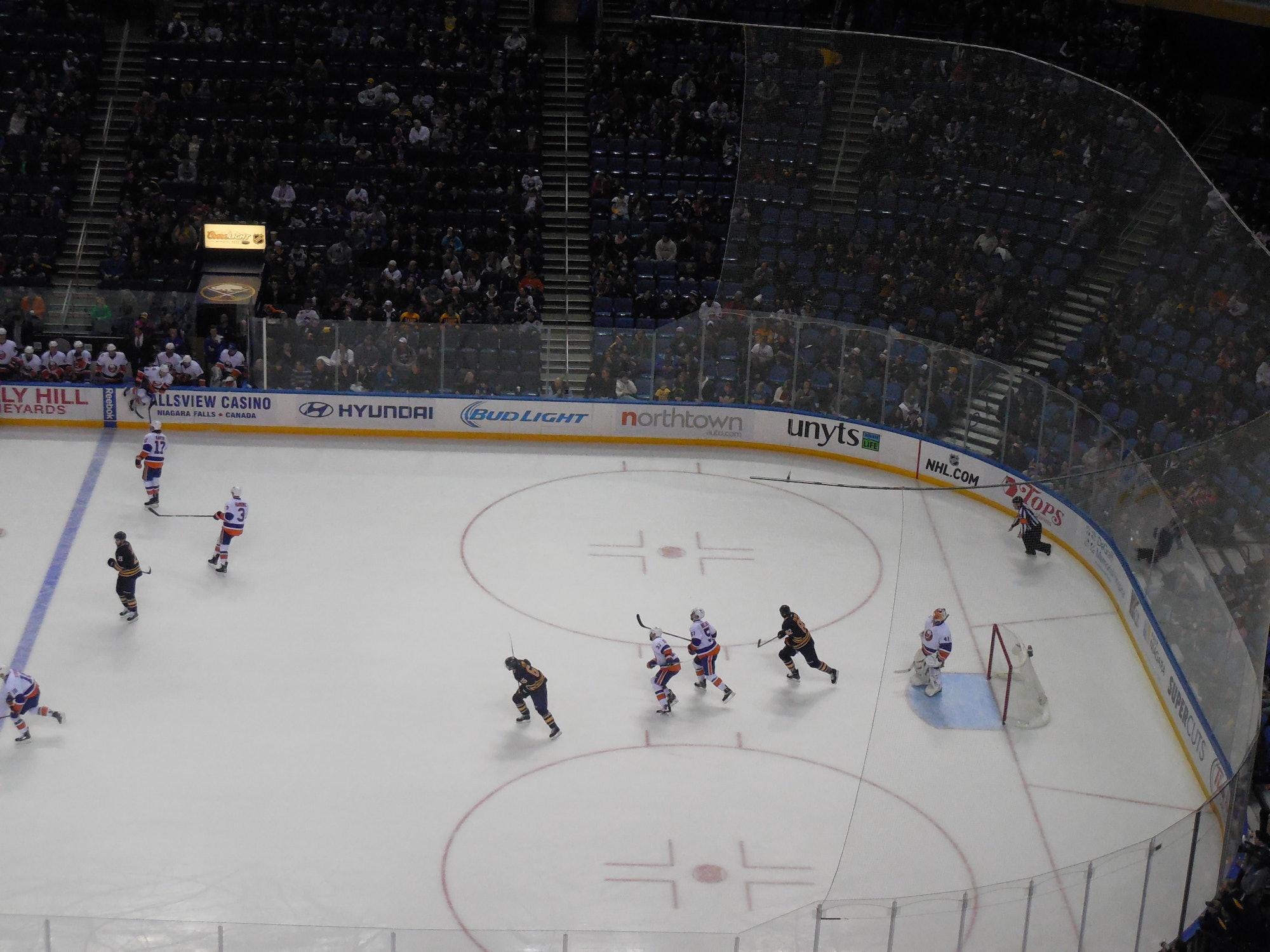 New York Islanders vs. Buffalo Sabres - February 8, 2015